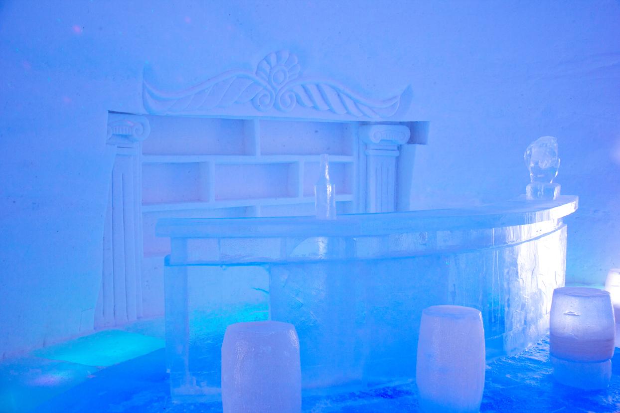 Ice Bars Inside Bars